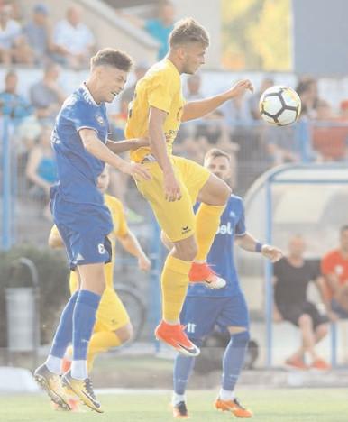 FINAL DE AN EN FANFARE PENTRU FLACĂRA Unirea Bascov – Flacăra Moreni 1-4 (0-0)