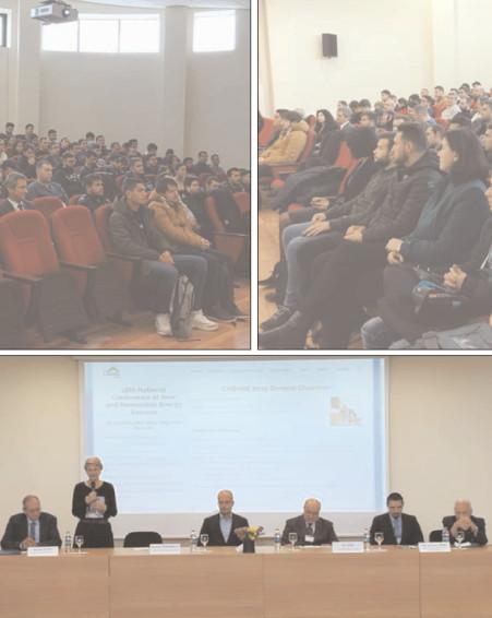 """Conferinţa Naţională de Surse Noi şi Regenerabile de Energie (CNSNRE) organizată de Universitatea """"Valahia"""" din Târgovişte"""