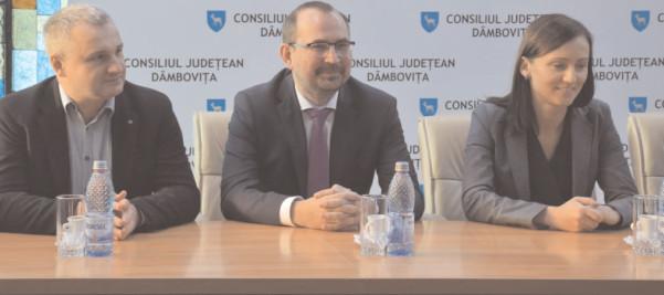 Magdalena Szuber, însărcinat cu afaceri al Ambasadei Poloniei la Bucureşti, vizită de lucru în judeţul Dâmboviţa