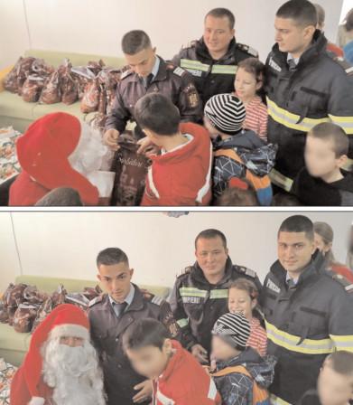 Pompierii târgovişteni continua acţiunile umanitare