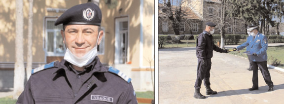Jandarmii dâmbovieni avansaţi în grad de Ziua Jandarmeriei