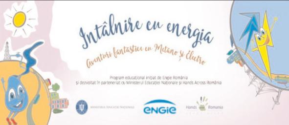 """""""Aventurile fantastice ale lui Metano şi Electro în lumea energiei"""""""