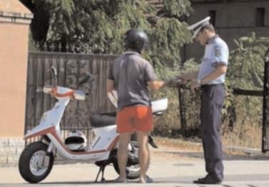 Infracţiuni contra siguranţei circulaţiei pe drumurile publice, constatate de poliţişti