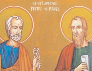 Pe 29 iunie, Sfinţii Apostoli Petru şi Pavel, iar în jurul acestei sărbători se păstrează o mulţime de obiceiuri şi tradiţii
