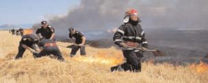 Prevenirea incendiiIor pe timpuI campaniei agricoIe de vară