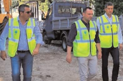 Târgovişte: Continuă lucrările de amenajare a zonei centrale a oraşului