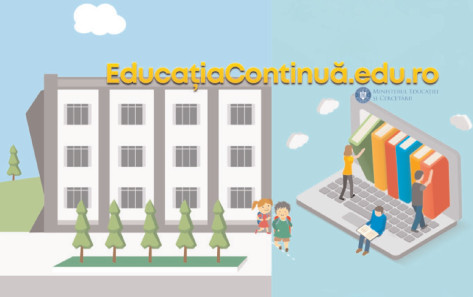 Ministerul Educaţiei şi Cercetării lansează educatiacontinua.edu.ro, instrument online de informare privind reluarea activităţii în sistemul naţional de învăţământ