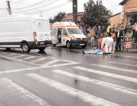 Accidente în lanţ pe DN 72 Ploieşti-Târgovişte, o persoană decedată