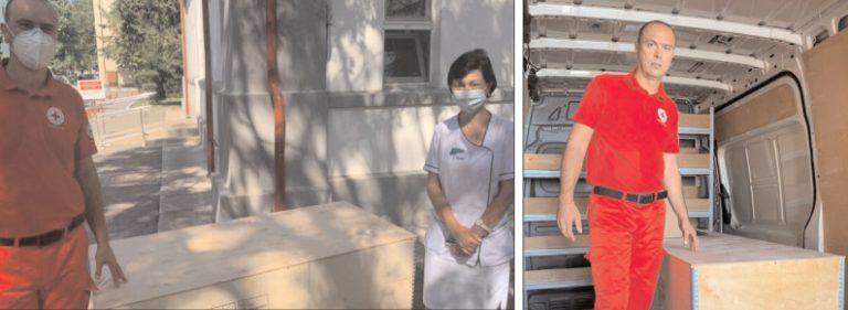 Cruce Roşie Dâmboviţa a donat aparatură medicală Spitalului Judeţean de Urgenţă Târgovişte