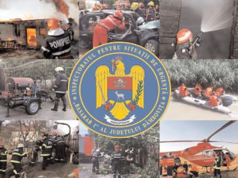 În ultima săptămână, pompierii dâmboviţeni au avut peste 80 de intervenţii