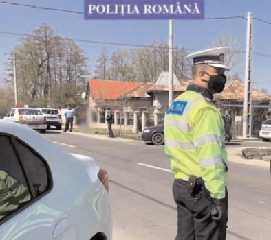 Poliţiştii dâmboviţeni, la datorie pentru siguranţa cetăţenilor