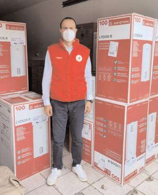 Crucea Roşie Dâmboviţa dotează cu 45 de boilere performante şcoli, grădiniţe, dispensare şi Centre Sociale din judeţul Dâmboviţa