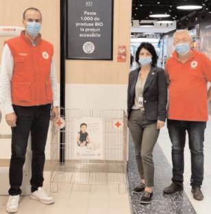 """Crucea Roşie Dâmboviţa are un nou partener în proiectul """"BANCA DE ALIMENTE"""""""