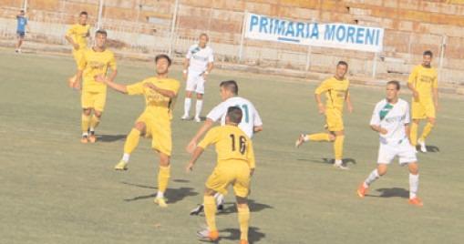 FLACĂRA MORENI Şl FC PUCIOASA, NEÎNVINSE ÎN RUNDA TRECUTĂ
