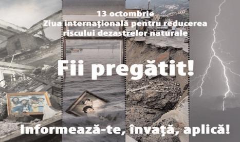 Reguli generale de comportament în caz de dezastre