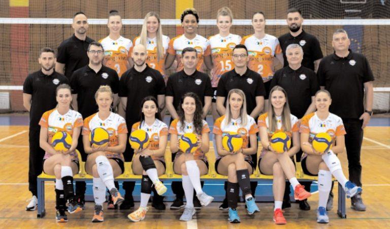 CS Municipal a spulberat campioana Bulgariei la volei feminin