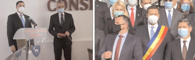 Noul preşedinte al CJ Dâmboviţa, Corneliu Ştefan a depus jurământul