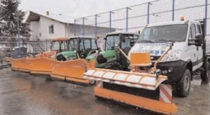 Un parc auto de utilaje, de invidiat, pregătit pentru orice intervenţie la nivelul comunei Voineşti