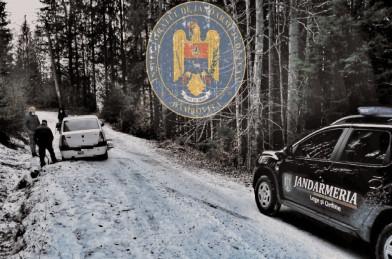 Jandarmii montani au acordat ajutor unor turişti puşi în dificultate de capriciile iernii