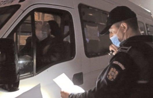 Poliţia şi I.S.C.T.R. au fost verificat 66.432 de autovehicule, fiind aplicate 30.763 de sancţiuni contravenţionale