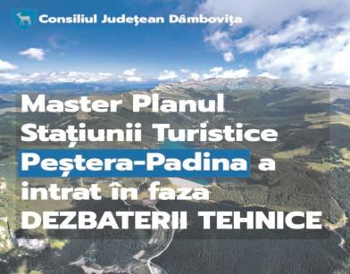 Maşter Planul staţiunii de interes naţional Peştera-Padina este în faza dezbaterii tehnice