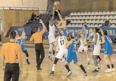 CSM Târgovişte, pe locul 5 în clasamentul Ligii Naţionale de Baschet