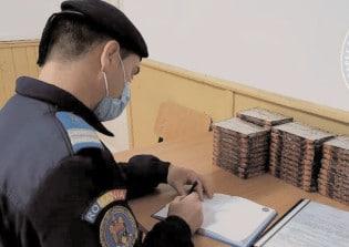 1000 de petarde confiscate de jandarmi