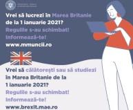 Regatul Unit al Marii Britanii şi Irlandei de Nord implementează un nou sistem de imigraţie din 1 ianuarie 2021