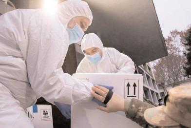 A treia tranşă de vaccin, 150.150 doze, distribuită în ţară