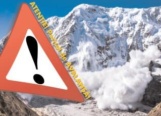 Atenţie! Pericol de avalanşă!