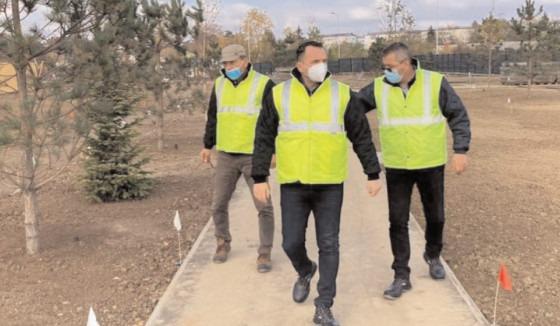Proiectul viitorului parc din proximitatea Complexului de Nataţie a intrat în faza de execuţie