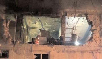 Explozie urmată de inceniu la un apartament din oraşul Găeşti