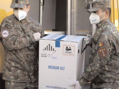 95.940 doze de vaccin de la Pfizer BioNTech au sosit marţi, în România