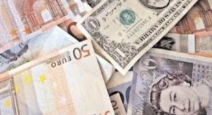 Creştere în linie a principalelor valute