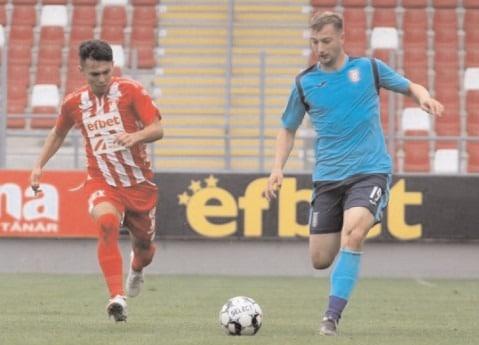 Chindia, egalată în prelungiri!Chindia Târgovişte – UTA 1-1 (1-0)