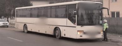 Acţiunea TRUCK&BUS a vizat prevenirea accidentelor rutiere în care sunt implicaţi conducătorii autovehiculelor destinate transportului public de persoane