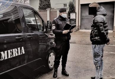 Jandarmii au continuat misiunile pentru protejarea populaţiei în context epidemiologie