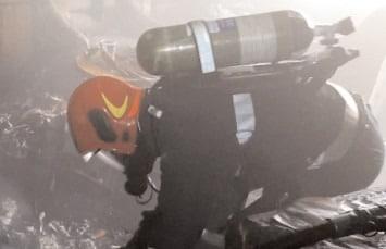 Incendiu la un apartament, în municipiul Târgovişte