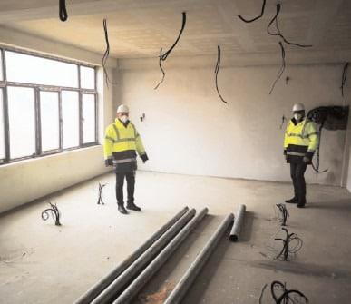 """Şcoala """"Matei Basarab"""" -cel mai mare proiect târgoviştean pentru modernizarea infrastructurii preuniversitare"""