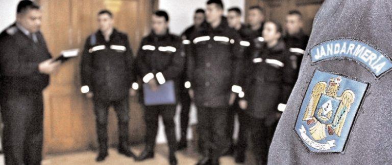 60 de tineri dâmboviţeni vor să devină jandarmi