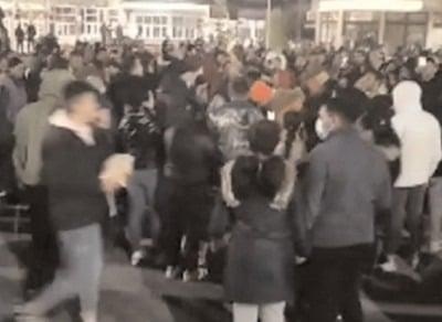 Protestele de la Târgovişte, s-au lăsat cu o arestare