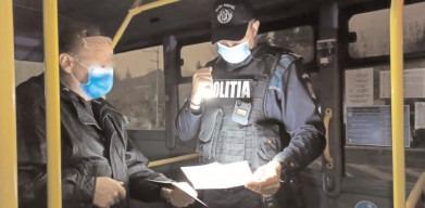 În Dâmboviţa au fost efectuate controale la 107 societăţi comerciale, în 166 de mijloace de transport persoane şi s-au legitimat peste 2.000 de persoane