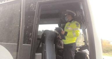 Controale privind depistarea persoanelor care practică ilegal activităţi de transport de persoane