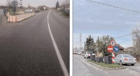 Pe DJ 720 Răzvad – intersecţie cu DJ 720B Gura Ocniţei, se introduce restricţie temporară de circulaţie prin instituirea unui sens unic