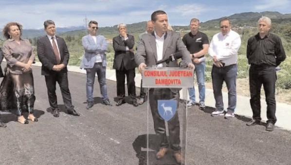 Un nou proiect ce vizează drumul de legătură la DN 71, pentru asigurarea optimizării traficului rutier şi accesibilităţii în zonele urbane ale oraşelor Pucioasa şi Fieni
