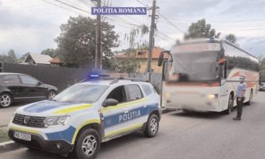 Siguranţa transportului public de persoane, în atenţia poliţiştilor dâmboviţeni