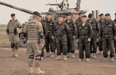 """Militarii Batalionului 114 Tancuri – """"Petru Cercel"""" Târgovişte, la exerciţiul """"ARGEDAVA 21"""""""
