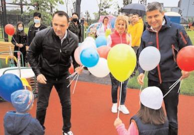 A fost inaugurat parcul de la Dâmboviţa Mall