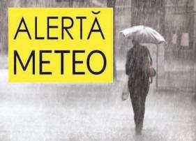 Avertizare meteo de vreme rea, meteorologii anunţă ploi torenţiale, vijelii şi grindină în toată ţara