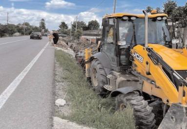 Reţeaua de canalizare din Răzvad, finalizată în două luni